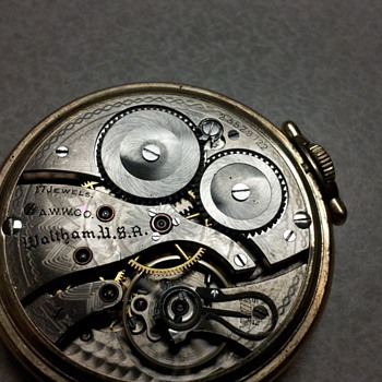 WALTHAM 10K 17J  - Pocket Watches