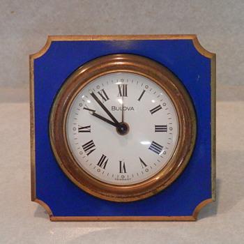 Bulova wind up travel clock made in Germany - Clocks