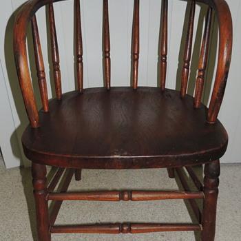 Wooden Bucket Chair - Furniture