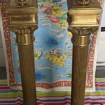 Brass lamps. - Lamps