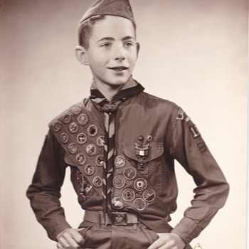 Saturday Evening Scout Post Eagle Scout Photo 1950s -60s - Photographs