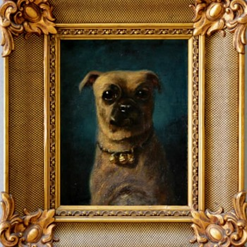 My Favorite French Dog Portrait - Fine Art