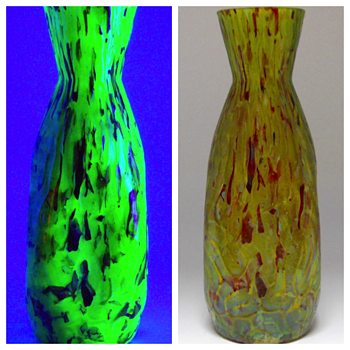 Franz Welz, Maze decor Vase, Circa 1900-1910 - Art Glass