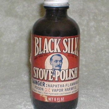 Black Silk Stove Polish - Bottles