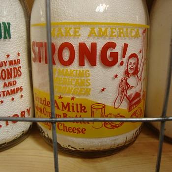 Gustafson Bros. Dairy War Slogans.....