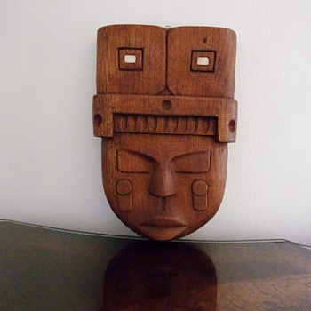 African Tribal Mask / Wall Hanging - Folk Art