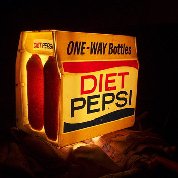 Diet pepsi light - Advertising