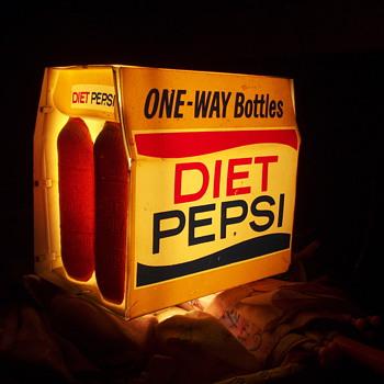 Diet pepsi light