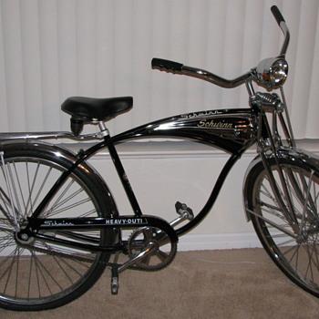 1970 Schwinn Heavy-Duti Bicycle Springer Front