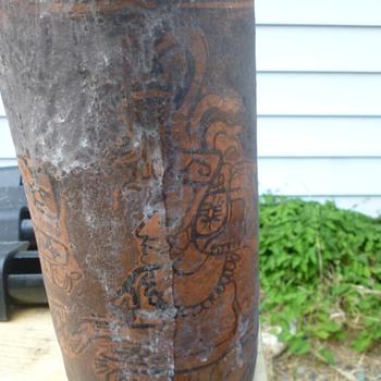 Mayan cylinder?