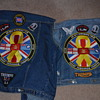 For blunderbuss2, our cut off denims for riding the bikes.