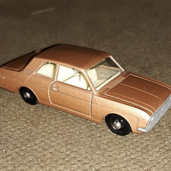 Mucho Mundane Matchbox Monday Ford Cortina 1968-1969 - Model Cars