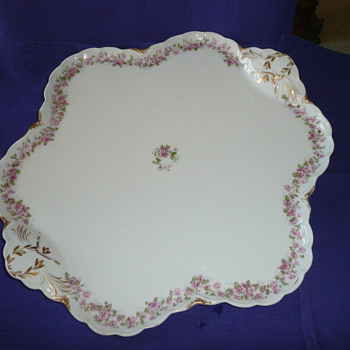 Haviland Serving Tray - China and Dinnerware