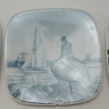 3 Bing Grondahl Collector's Plates - Made in Denmark - China and Dinnerware