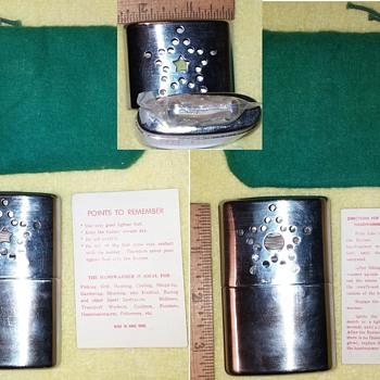 Handwarmer And Cigarette Lighter