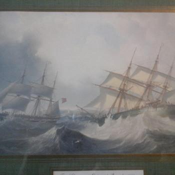 J.W Carmichael Print