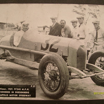 Old Indianapolis Motor Speedway Photo's - Photographs