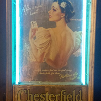 Chesterfield Cigarette Ad