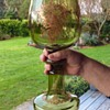 Monumental Bohemian Glass Roemer/Goblet c1880