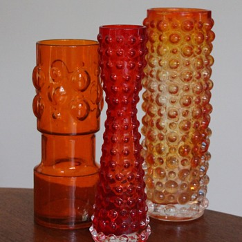 Hobnail glass from Japan 1 - Art Glass