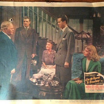 1947 Give My Regards To Broadway #48/488 - Movies