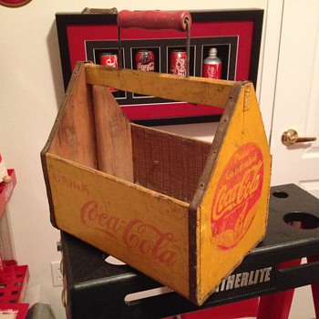 Early '40's Coca-Cola Bottle Carrier - Coca-Cola