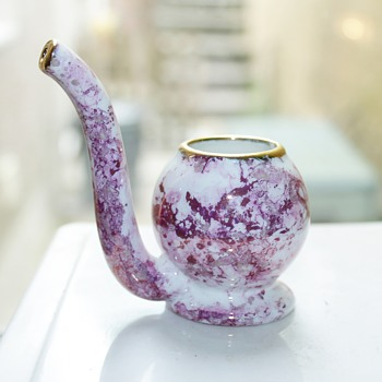 Small size (antique?) porcelain sipping pipes - Kitchen