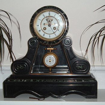 French Marble Clock - Clocks