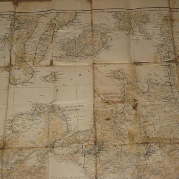 Map from World War II - Paper