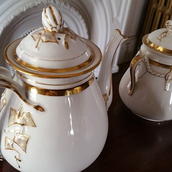 haviland limoges tea set - Kitchen