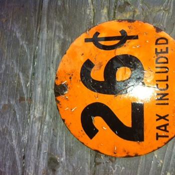 Gas Sign  - Petroliana