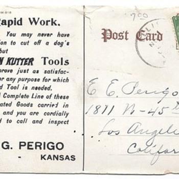 Keen Kutter Postcard