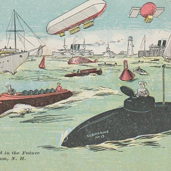 "The ""Future"" of Cobbett's Pond Ca. 1920 Postcard - Postcards"