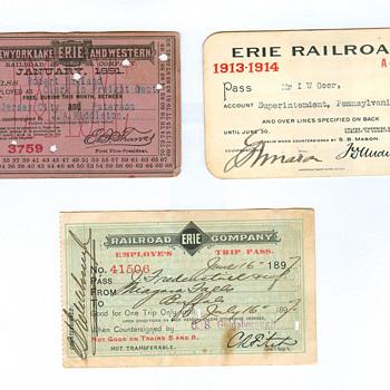 Railroad Passes