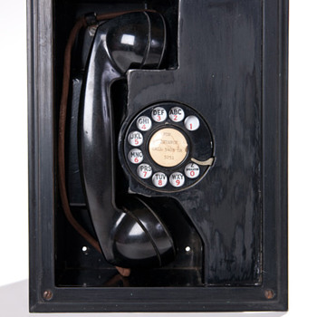 Rummage Sale Find:  Vintage Western Electric in-the-wall phone - Telephones