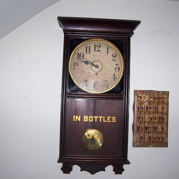 Old Clock - Coca-Cola