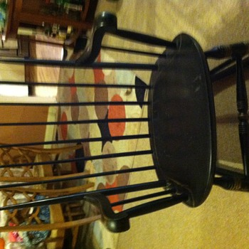 50 year old Nichols and Stone Rocking Chair
