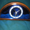 Blue Mirror Clock