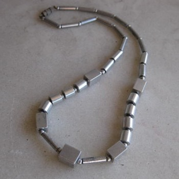 Aluminum necklace  - Fine Jewelry