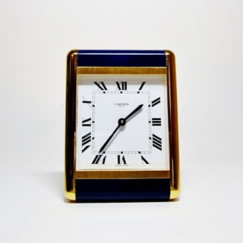 "CARTIER - PARIS  ""VINTAGE  CLOCK"" - Clocks"