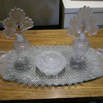 sunflower vanity set - Bottles