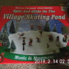 Old Battery Operated Villiage Skating Pond