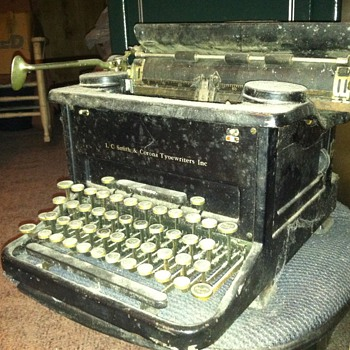 L C Smith & Corona Typewriter - Office