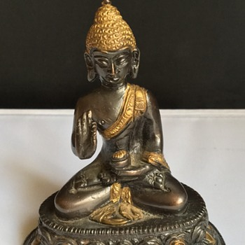 Vintage Buddha  - Asian