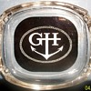 Vintage 1950's Chicago Graemer Hotel glass ashtray