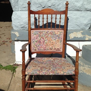 Curbside  Found Rocker - Furniture