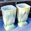 If not R.R.P. Ohio potteries then who made these vases?