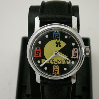 PAC-MAN Wristwatch - Wristwatches
