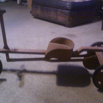Row Cart Toy Found In West Texas - Model Cars