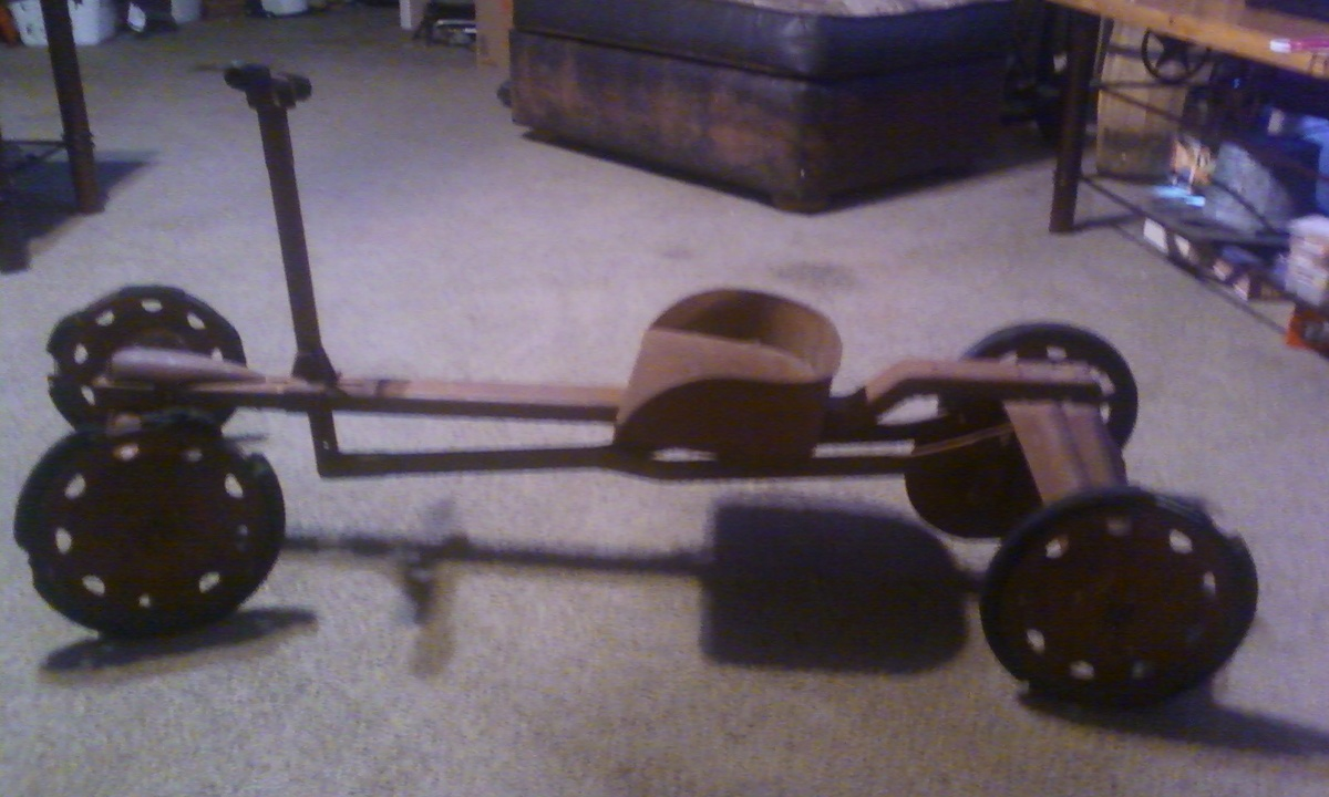 Row Cart Toy Found In West Texas Collectors Weekly